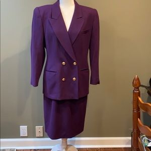 🌞 Christian Dior vintage pure wool suit, 10